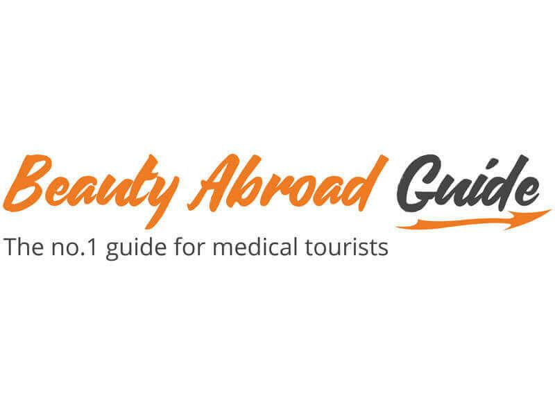 Projekt logo nastronę internetową Beauty Abroad Guide