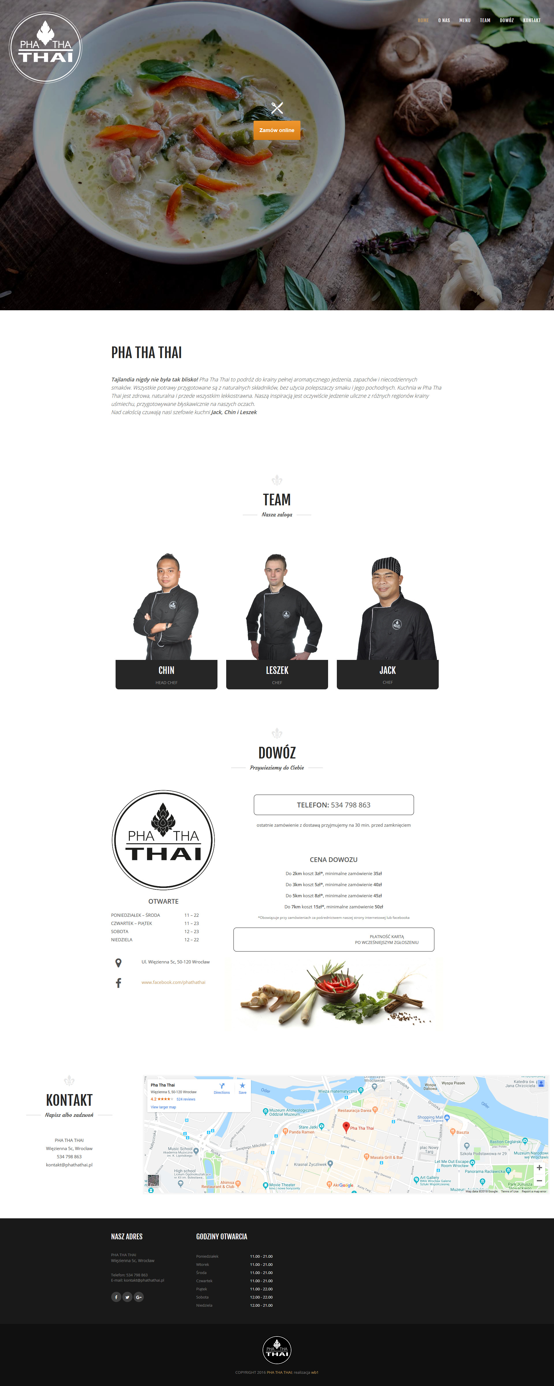 phathathai - restauracja tajska