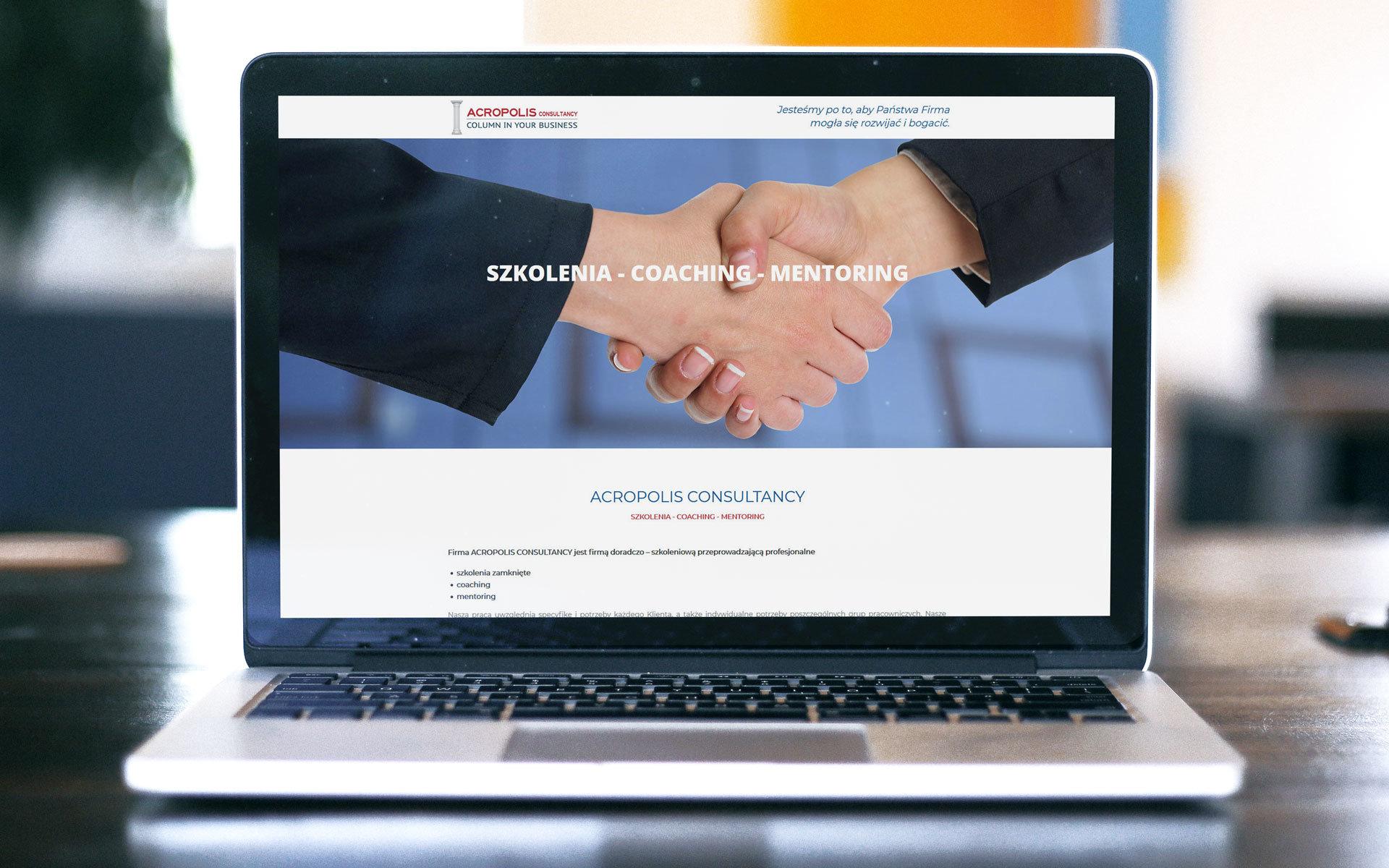 Acropolis Consultancy strona www