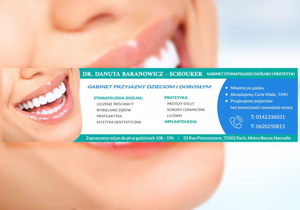 dentysta baner reklamowy